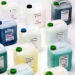 Commercial dishwasher detergents and chemicals
