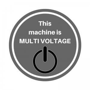 This dishwasher is multi voltage