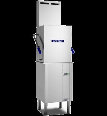 Washtech M1C Pass through dishwasher with Heat Condensing