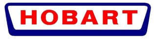 Hobart Commercial Dishwashers Logo Red and Blue